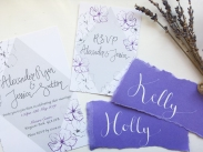 purple paler placenames with invites