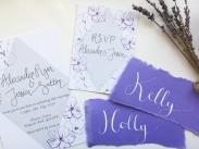 purple paler placenames with invites